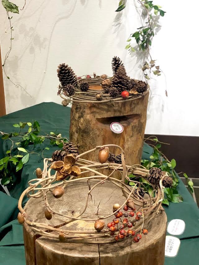 神代植物公園 木の実・草の実展