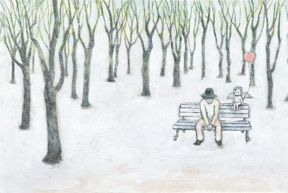 天使 公園にて(オリジナル作品)