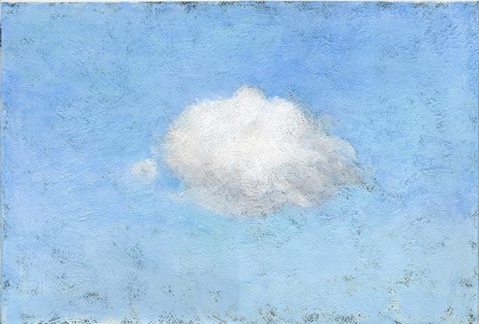 横浜の雲(個展出品作品)